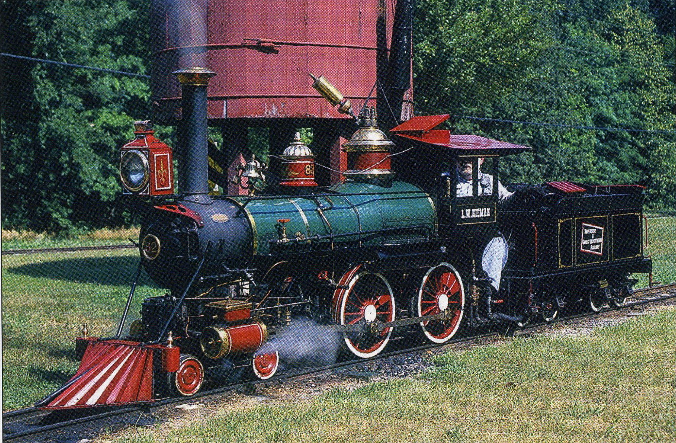 Scale Steam Locomotives For Sale N Scale Steam Locomotives - Riverside great northern no 82 the i w nieman poses at the water tank at the wisconsin dells wisconsin yard the 15 gauge 4 4 0 was built by norman